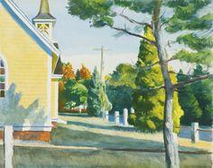 Edward Hopper - Church in Eastham