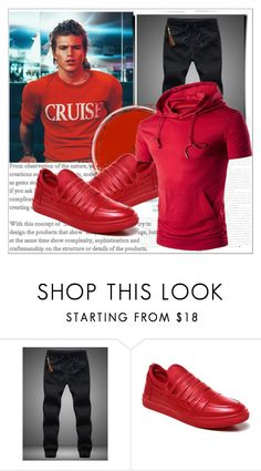 """""""Rosegal 54/ III"""" by emina-095 ❤ liked on Polyvore featuring men's fashion, menswear, polyvoreeditorial and rosegal"""