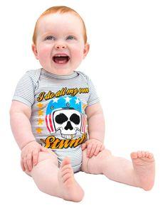 Six Bunnies Baby STUNTS Strampler.Tattoo,Biker,Oldschool,Rockabilly,Custom Style
