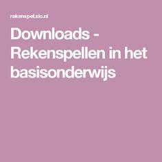 Downloads - Rekenspellen in het basisonderwijs