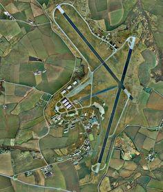 RAF Brawdy from the air.