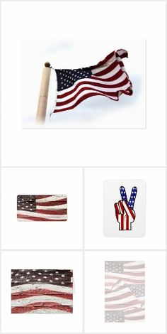 Collection of Products with the American Flag -Shirts, ornaments, gift wrap, charms, mugs & more!   #Gravityx9 #Redwhiteandblue1