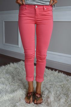 Calypso Coral Pants – The Pulse Boutique