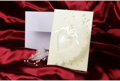 #Invitation #mariage #coeur http://www.faire-part-mariage-oui.fr/faire-part-mariage/faire-part-blanc/invitation-mariage-coeur.html