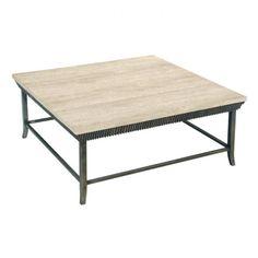 SQUARE COCKTAIL TABLE | LaurelHouse Designs
