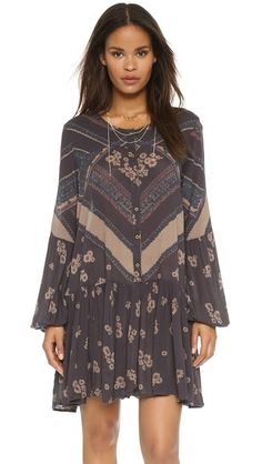 Free People From Your Heart Print Dress   SHOPBOP