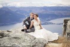 Cecil Peak, Queenstown & Wanaka Wedding - Rock The Frock Shoot - Photography by Alpine Image Co.