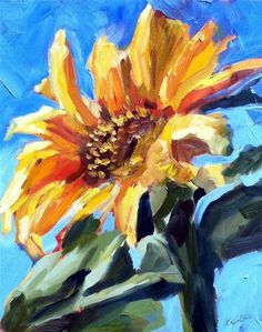 """Sunny Days"" - Original Fine Art for Sale - © kristen dukat"