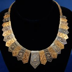Absolutely stunning. Tiffany & Company Gold Necklace, ca. 1875