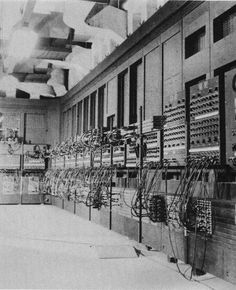 The ENIAC computer (1946).