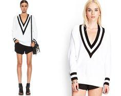 Clonados y pillados: ¿enamorada del jersey Varsity de Rag  Bone? Forever 21 nos lo trae