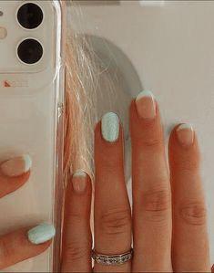 Cute Acrylic Nail Designs, Simple Acrylic Nails, Best Acrylic Nails, Stylish Nails, Trendy Nails, Color For Nails, Acylic Nails, Square Nail Designs, Super Cute Nails