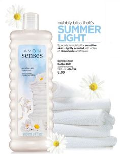 Avon Senses Bubble Bath *MIX or MATCH!* 2/$12 (reg. $8 ea.)