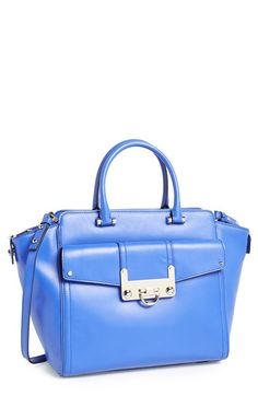 Milly 'Bryant' Leather Tote available at #Nordstrom