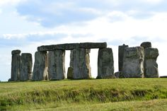 Stonehenge. And it was such a gorgeous day when I visited.