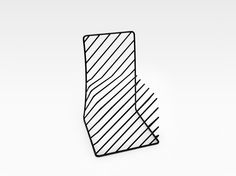 Think Black Lines Chair