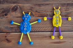 Several robot-themed ideas for preschoolers