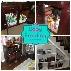 baby proofing your home - Child Proof Bookshelves