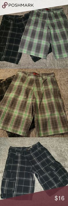 2 pack of boy shorts Like new boy shorts. One pair new without tags and second pair is very gently used. **Back2schoolspecial ** Bottoms Shorts