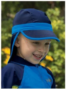 Sun Smarties Baby Toddle Sporty Flap and Brim hat