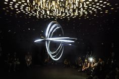 jason bruges studio immerses visitors with multi-sensory pixel constellation
