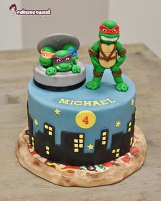 Ninja turtles cake - Cake by Naike Lanza