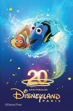 Nemo & Doris - Disneyland 20ans