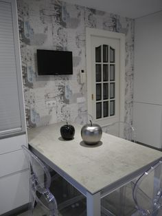 Double Vanity, Kitchen, Home Decor, Kitchen Furniture, Kitchen Design, Kitchens, Wall Papers, Street, Paper Envelopes