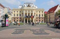 THE SLOVAK NATIONAL THEATER - WelcomeToBratislava | WelcomeToBratislava - Hviezdoslav's square