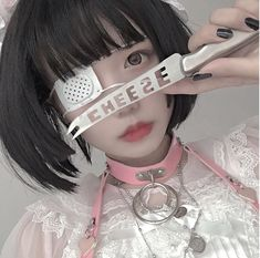 Nurse Aesthetic, Aesthetic Girl, Harajuku Fashion, Kawaii Fashion, Pelo Anime, Japanese Aesthetic, Cute Cosplay, Pretty Asian, Short Wigs