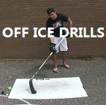 Hey guys, I have had a lot of requests for off-ice stickhandling drills. There are a lot of great stickhandling drills out there and I could probably make about 20 videos, but luckily for me somebody already did! I would have loved to make these myself, b Hockey Workouts, Hockey Drills, Hockey Goalie, Hockey Players, Dek Hockey, Hockey Room, Hockey Party, Hockey Training, Hockey Coach