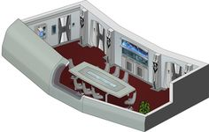 USS Avenger/NCC-1810/Conference room by bobye2.deviantart.com on @DeviantArt