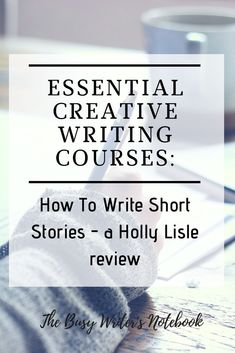 Do You Want To Write Short Stories? Holly Lisle's New Writing Class: How To Write Short Stories Will Help Get You There. Write For Love And Money. If you're thinking about Holly's new course - grab it now, before the price goes up Thursday Writing Courses, Writing Advice, Writing Resources, Writing A Book, Writing Prompts, Start Writing, Writing Ideas, Writing Posters, Writing Lessons