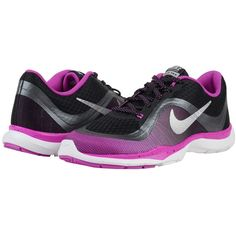 buy popular 6e3b5 acbe1 Nike Flex Trainer 6 Print Women s Cross Training Shoes ( 75) ❤ liked on  Polyvore featuring shoes, athletic shoes, mesh shoes, mesh athletic shoes,  ...