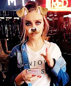 Perrie snapchat dog
