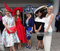 Fashion on Ladies Day at Epsom Racecourse on Investec Ladies Day on June 3, 2016 in Epsom, England. Furlong Fashion Racing Style Fashion At The Races