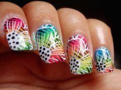 Spring it on - #colorfulnails #nailart #nails #naildesign #nickylovenails - bellashoot.com