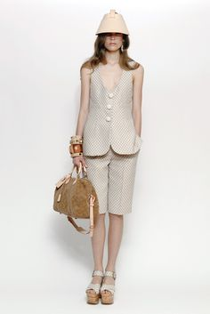 Comfort Trend: Natural Shades  (Louis Vuitton's resort '13 focused on shades of beige.)