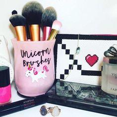 10 Pigmented Professional Blush & Bronzer Palette Makeup Kit Set Pro Palette High-end Formula (Blushes & Bronzer) by Karity Cosmetics - Cute Makeup Guide Cute Makeup, Diy Makeup, Makeup Kit, Makeup Ideas, Beauty Makeup, Unicorn Brush, Unicorn Makeup, Best Makeup Brushes, Best Makeup Products