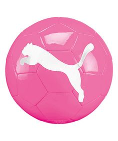 Take a look at this Project Pink XS Mini Soccer Ball by Puma on #zulily today!