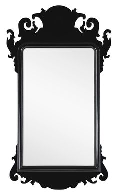 Black Lacquer Chippendale Mirror by Mirror Image Home discounted on $622.34. Saves you: $292.86 (that's 32%)