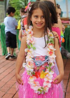 Hawaiian Luau party. I want to throw one this summer!