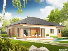 Eris G2 (wersja C) - projekt domu - Archipelag