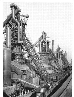 The four queens..blast furnaces