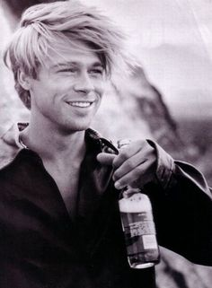 Young Brad Pitt as inspo for Malachi Look at that smile....
