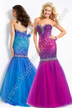 Party Time 6019 Long Mermaid Prom Dress