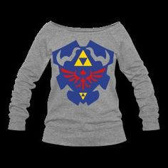 Crest of Hyrule tattooed on my rib cage. I own no Zelda gear! Nerd Merch, Zelda, Geek Chic, Just In Case, Love Fashion, Cool Outfits, Sweatshirts, My Style, Mens Tops