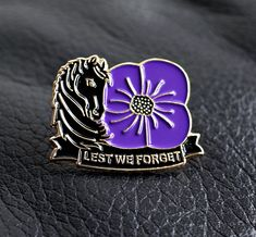 Remembrance Day Art, Poppy Badges, Poppy Pins, Remember Day, Armistice Day, Purple Poppies, Anzac Day, Fallen Heroes, Lest We Forget