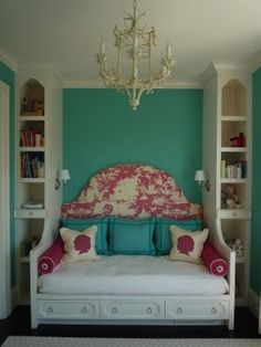 A great setup for a guest bedroom