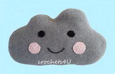 Cloud pillow Crochet pattern by Joke Decorte | Knitting Patterns | LoveKnitting